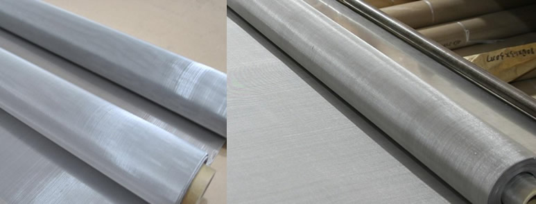 Metal Wire Mesh Cloth, Plain Weave, Square Hole
