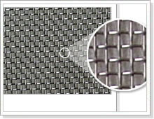 woven wire cloth in stainless steel